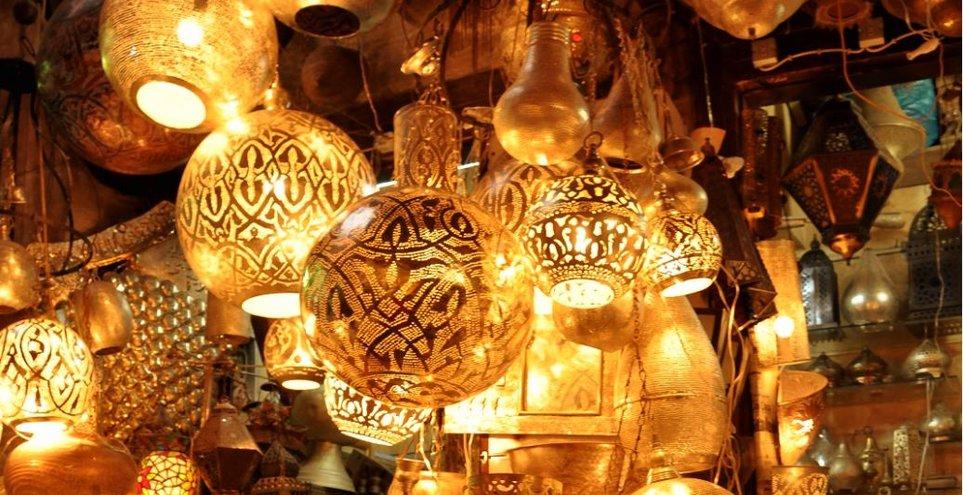 Marokkanische-Lampe