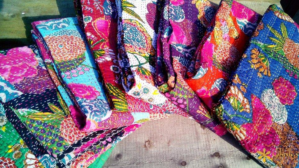 Kantha-Quilts