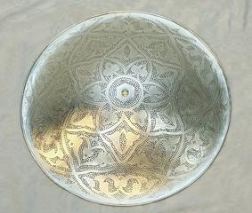 Orientalische-Deckenlampe