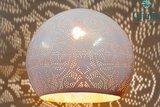 wit met goud oosterse hanglamp