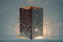 Orientalische Stehlampe Qube L