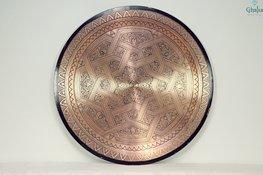 Orientalische Tabletts aus Kupfer