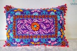 Orientalische Kissen Damali Purple 50 x 35