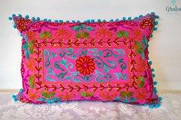 Orientalische Kissen Damali Pink 50 x 35