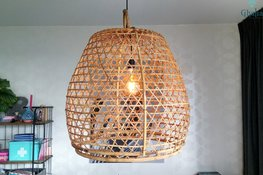 Orientalische Hanen Korb Lampe Diq XXL