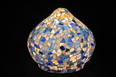 Mosaiklampe Onion