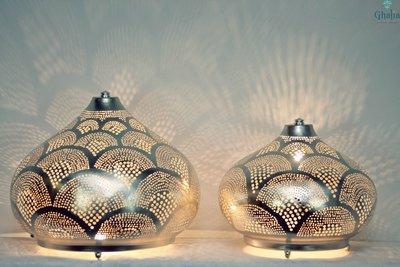 Oosterse lamp Isra Ghalia combi