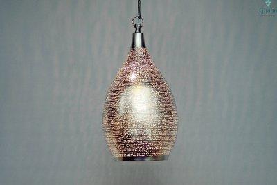 Oosterse hanglamp Alzan L Ghalia AAN licht