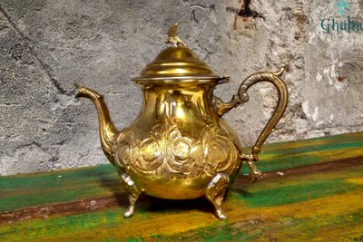 Marokanische Teekannen aus Messing